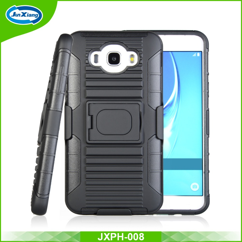 Hybrid Stand Fitted Belt Clip Holster Case For Samsung J710