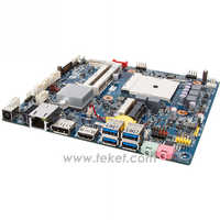 AMD Mini-ITX Motherboard MQHUDVI FM APU A4-5/A6-5/A8-5/A10-5 A75 chipset Slim,Video HD7480D-HD7660D for Gaming PC