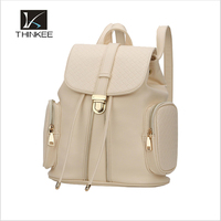 china supplier shopping bags wholesale pu waterproof fashion school backpack 2015