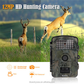RD1001 12MP Hunting Camera Trail Scouting Wildlife IR Night Vision LED Infrared
