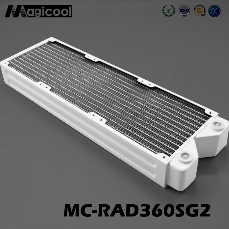 New products,white Copper Radiator for computer 45mm thickness 360mm length