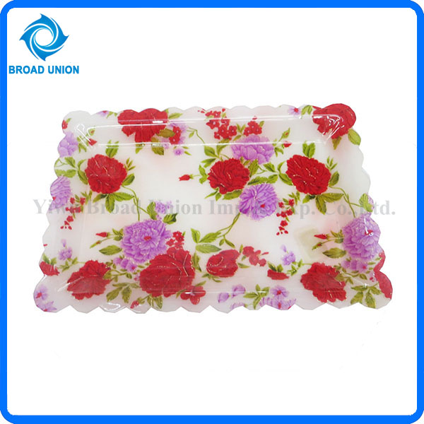 Beautiful Acrylic Plate Plastic Fruit Tray