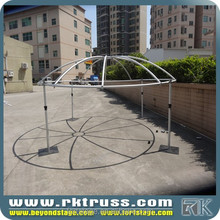 RK aluminum round pole/used wedding mandap/wedding chuppah pipe and drape