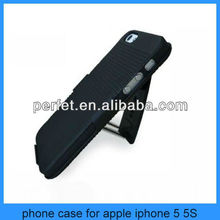 hybird Couple holster combo case for iphone 5 holster swivel combo case