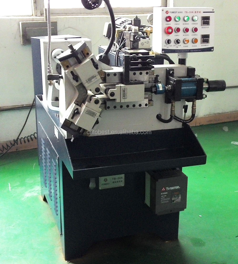 hydraulic fully automatic thread rolling machine bolts making machine