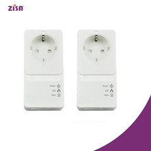 Zisa 500/1000mbps pass through plc,powerline adaptor power line communication <strong>modem</strong>