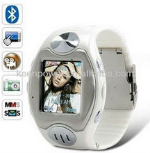 "1.38"" Quad-Band Hidden Camera MP3/MP4 Watch Touch Phone S66"