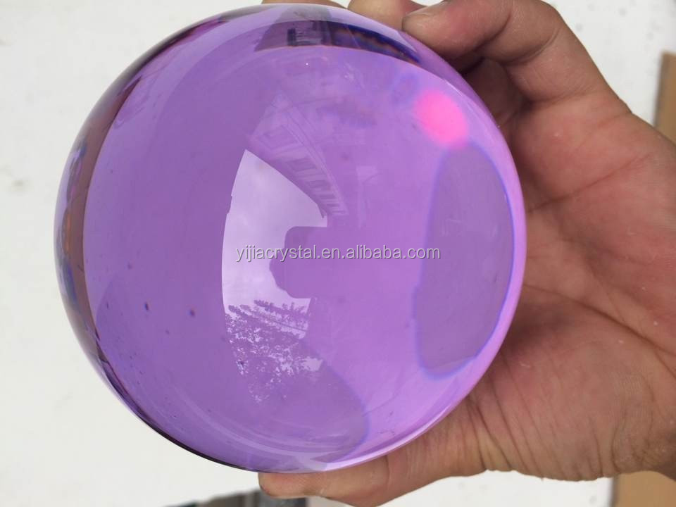 wholesale clear K9 Crystal Ball/k9 solid crystal ball for sale/Glass sphere crystal ball