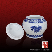 Jingdezhen Supply and Custom Best Quality Hand-painted Ceramic Tea Coffee Sugar Containers