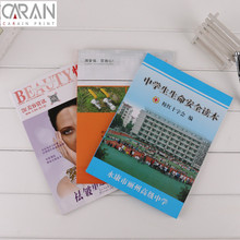Wholesale cheap color printing fashion magazine book printing service