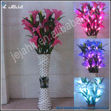 decorative flowers with lights led flower branch light