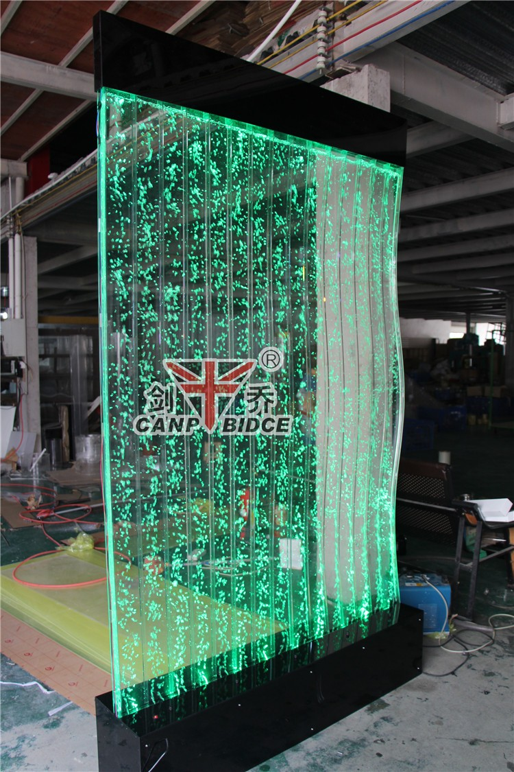 Cafe decoration interior water fountains bubble wall screen divider buy screen divider - Decoratie corridor ...