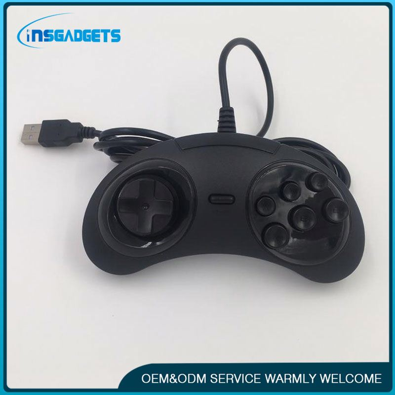 Pc game remote ,h0tBD for xbox wired game pad controller black for sale