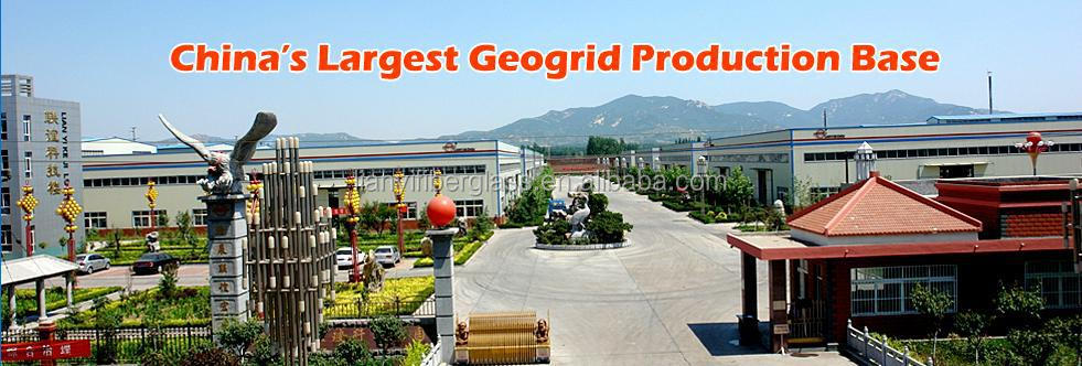Steel Plastic Composite Geogrid, welded PET geogrid for subgrade stabilization