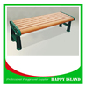 2015 popular park bench design Chinese manufacturer Iron Park Bnech Cast Iron Bench Legs No Back