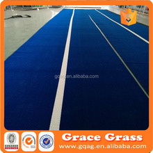 Synthetic turf for gyms
