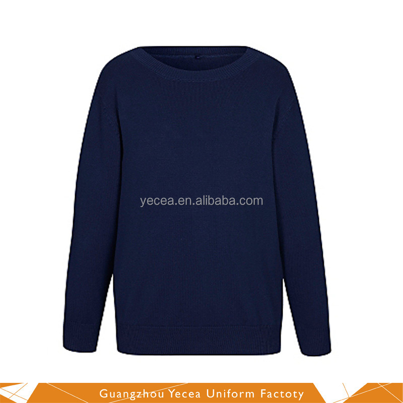 Good winter Warm wool pullover Sweater for leisure outdoor or primary/High School uniform wholesale &Custom Logo