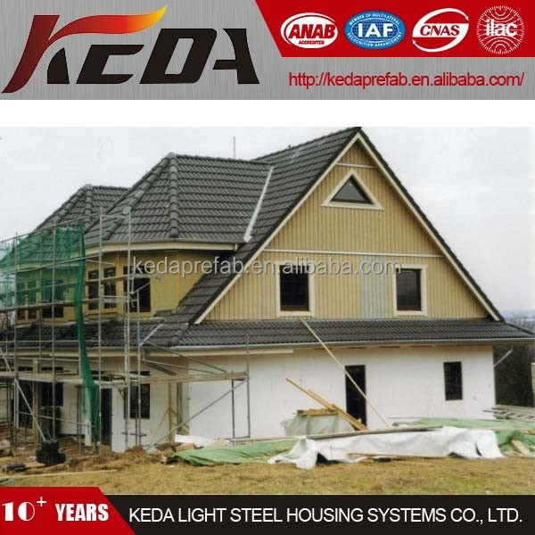 two storey Ready Made House architectural design hot sell in India