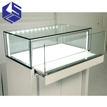KSL shopping mall 3d jewelry shop interior counter design with logo