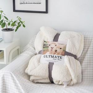 Wholesale Polyester Minky Material Baby Fleece Blanket