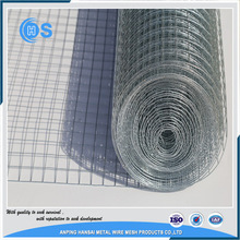 1/2 inch square hole welded wire mesh pvc coated welded