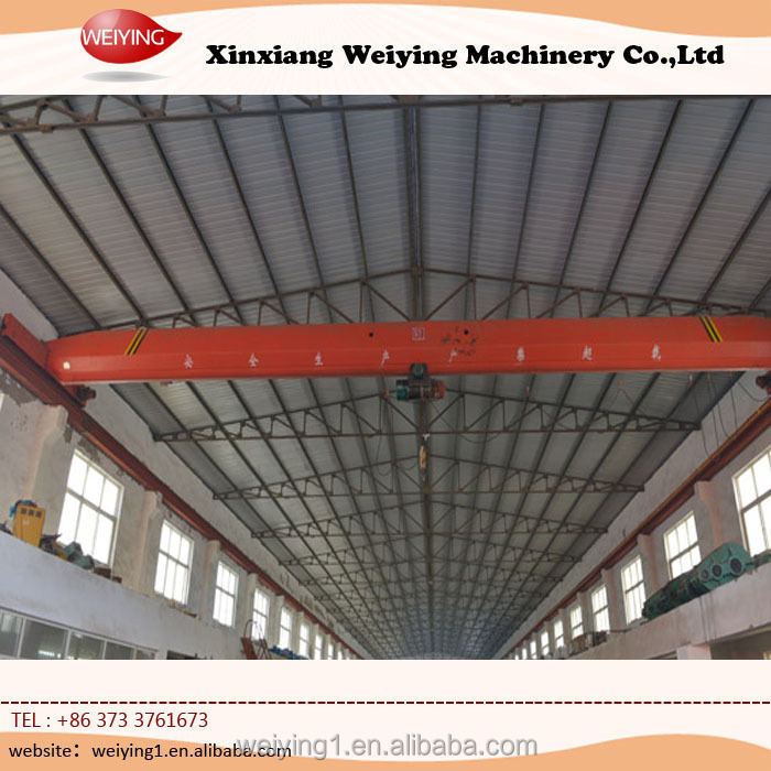 Different Span Single Girder 10 Ton Overhead Crane Best Price