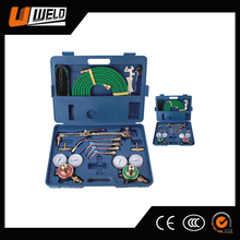 UWELD Portable H502 Gas Cutting Torch Set with Plastic Tool Box UW-1502