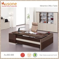 Latest Model Furniture Red Sandalwood Finish Executive Office Table Specifications