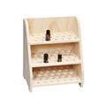 China factory custom natural wood essential oil display