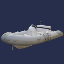 Factory Direct Sale China 420 RIB Hypalon Inflatable Boat with Center Console