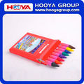 1.1*10cm wholesale cheap stationery promotion Kids multicolor Crayon set