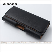 Hot Sell PU Leather Universal Smartphone Protect Case with Hook