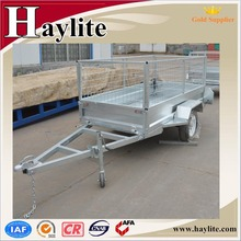 Small ATV dump trailer with cage