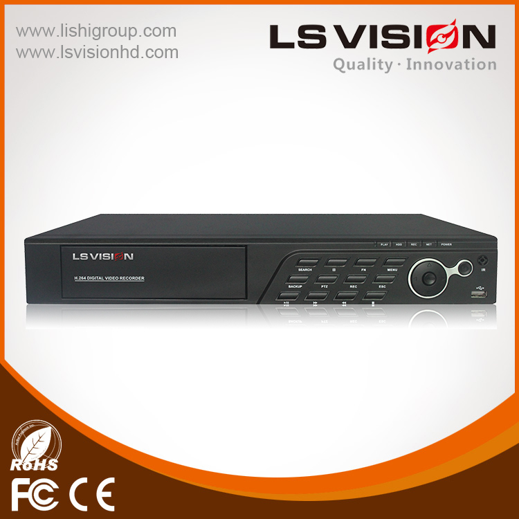LS VISION cheap 720P AHD DVR low cost cctv camera 8ch dvr