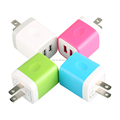 2017 Dual Usb Travel Charger For Smartphone