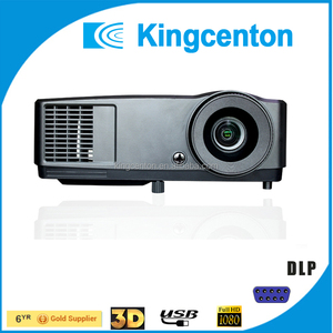 High quality 5000 lumens 4k led 300 inches projector 3d movie beamer ultra hd