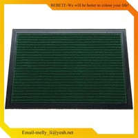 2017 New Design PP Solid colour Mat , Rubber Stable Mat