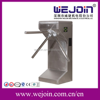 304 stainless steel Full-automatic Turnstile intelligent With Passenger counter