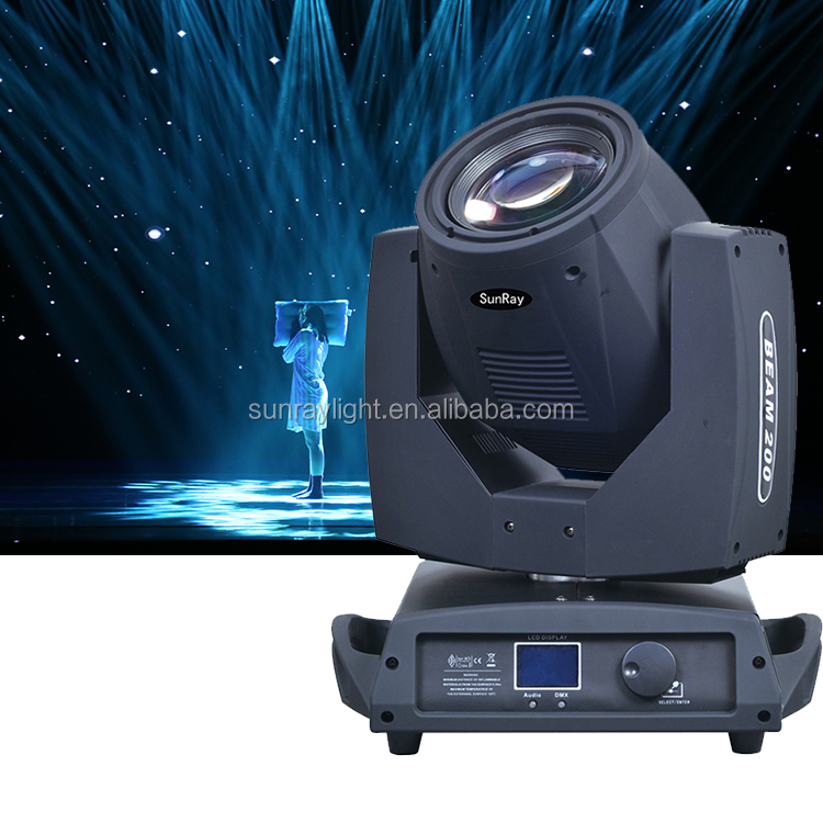 Dmx512 16 Channels Control 17 Patterns Color Frost Function 230W Sharpy 7R Beam Moving Head Light