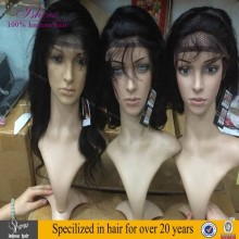 Wholesale Good Quality Peruvian Human Hair Full Lace Wig