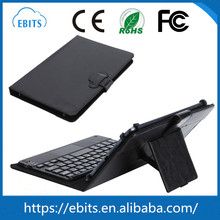 Beautiful PU leather & ABS plastic leather folding wireless bluetooth tablet keyboard MID for android