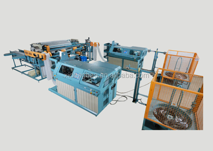LR-PS-LINE Fully Automatic Pocket Spring coling and spring Units Producing Mattress Equipment