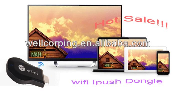 New For Windows/MacOS/Android/iOS Mobile Phone Miracast iPush to TV
