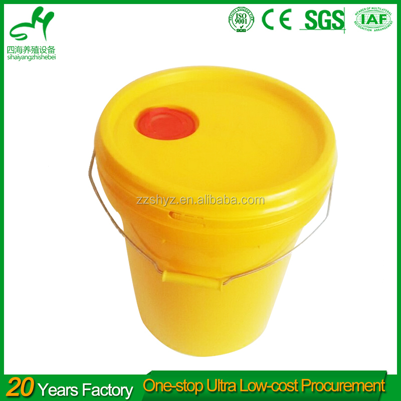 SIHAI plastic pail bucket for paint 20l plastic bucket handle use for Industry and agriculture