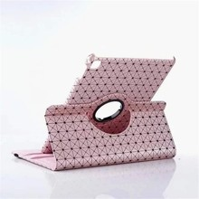 Luxury pink dustproof flip smart PU leather case cover for IPAD PRO 9.7inch