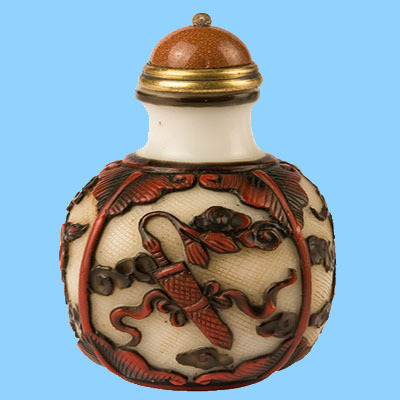 Wholesale Antique Chinese Glass Snuff Bottle