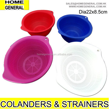 PLASTIC COLANDER PLASTIC COLANDER STRAINER CHEAP COLANDER VEGETABLE STRAINER WASHING BOWL SALAD STRAINER