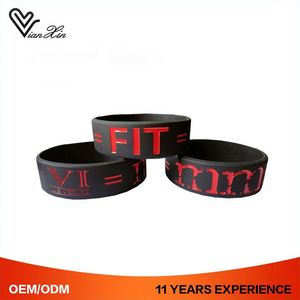 Serial Number Silicone Imprint Cheap Custom Branded Bali Style Bracelet