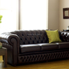 Inflatable Chesterfield Leather Sofa For Sale