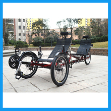 Friends Touring Electric Tandem Recumbent Trike